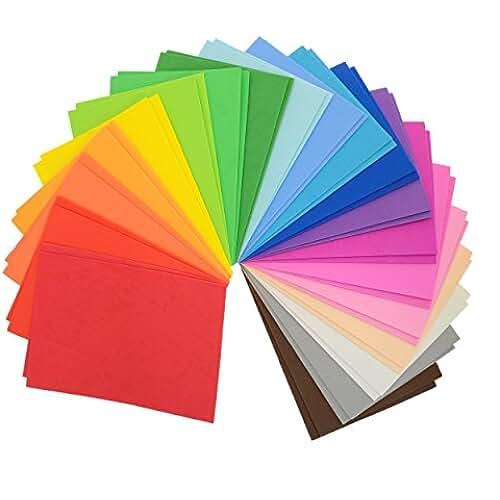 goma eva kawaii Láminas de goma eva multicolores, 22x 15x 8,5cm, A5