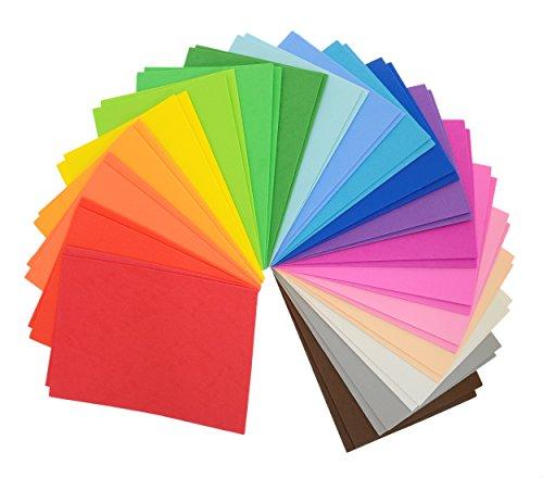 CI Láminas de goma eva multicolores, 22x 15x 8,5cm, A5