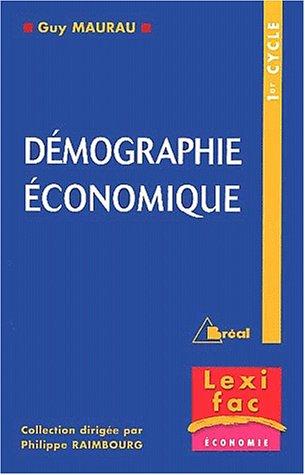 Démographie économique