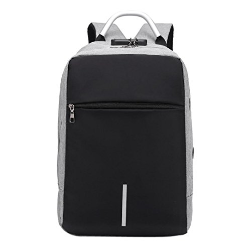 SANFASHION Mode multifunktionale Anti Theft Rucksack High Capacity Laptop Tasche mit USB
