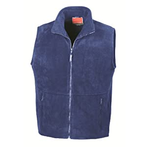 "4150AMwJarL. SS300  - RESULT ACTIVE FLEECE BODYWARMER GILET - 7 COLOURS (S-XXL) UNISEX (LARGE - 42/44"", ROYAL BLUE)"