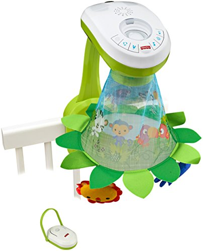 Image of Fisher-Price Grow-with-Me Projection Mobile - Multi-Coloured