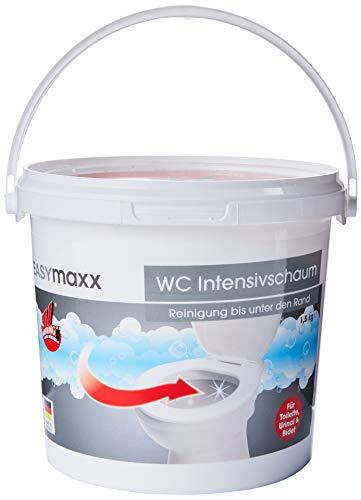 EASYmaxx WC-Schaum Eimer 1er Pack (1 x 1,5 kg) Toiletten Reiniger aus dem TV - universal Reinigungsschaum - Hergestellt in Deutschland