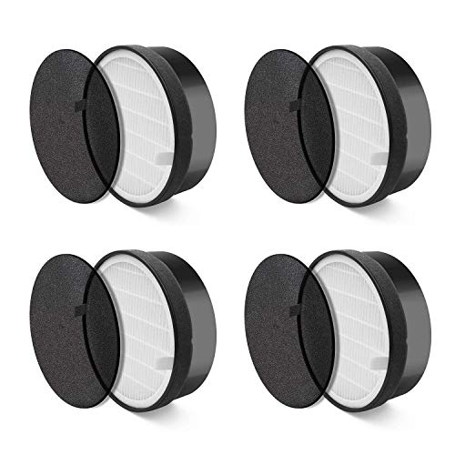 best service 4852f a2f54 SODIAL Air Purifier LV-H132 Replacement Filter (4 Pack)