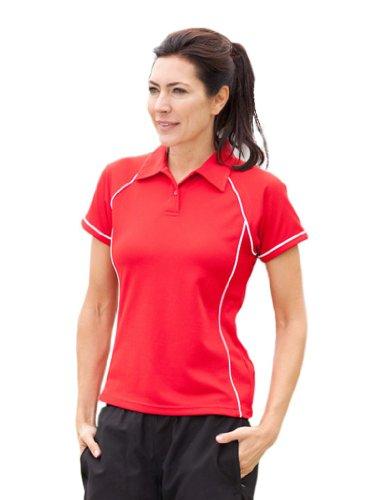 Sont hales polo de sport pour femme couleurs lV371 Multicolore - Noir/blanc