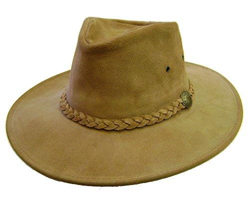 modestone-unisex-crushable-henschel-suede-cowboy-hat-xs-s-beige