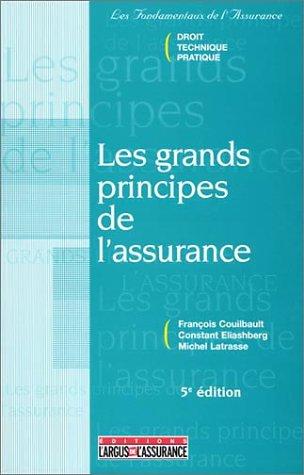 les-grands-principes-de-l-39-assurance-5e-dition