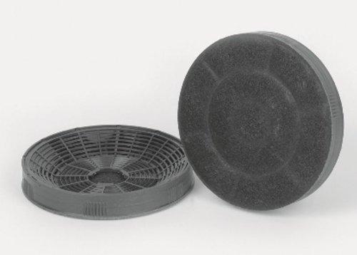 Silverline AF 100 1 Paar Aktivkohlefilter Zubehör Dunstabzugshaube Umluftbetrieb