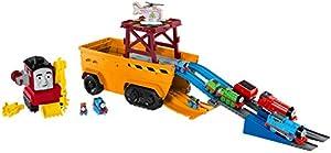 Thomas & Friends GDV38 Super Cruiser 2 en 1 Juego de vehículo y Pista Grande con Trackmaster y Motores de Tren MINIS, Multicolor