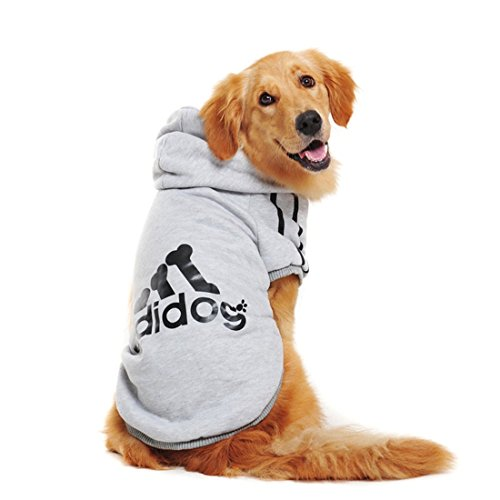 Gute Für Kostüme Drei (aisuper Puppy Hunde Katzen Haustiere Kleidung Hoodie Golden Retriever French Bulldog Pudel Mops Sports Fashion Cool Uni Herbst Winter Warm T-Shirts Jacken Kostüm (3 Farben voller Größe xs-9 X)