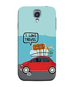 PrintVisa Designer Back Case Cover for Samsung Galaxy S4 I9500 :: Samsung I9500 Galaxy S4 :: Samsung I9505 Galaxy S4 :: Samsung Galaxy S4 Value Edition I9515 I9505G (Love Lovely Attitude Men Man Manly)