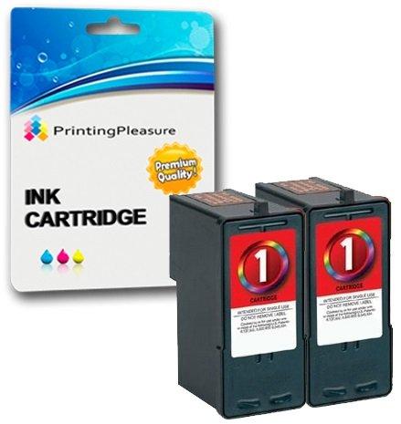 Preisvergleich Produktbild 2 FARBE Druckerpatronen für Lexmark X2300, X2310, X2315, X2320, X2330, X2340, X2350, X2360, X2370, X2380, X2390, X2450, X2460, X2465, X2470, X2480, X3450, X3470, X3480, Z730, Z735 | kompatibel zu Lexmark No. 1 (18C0781E)