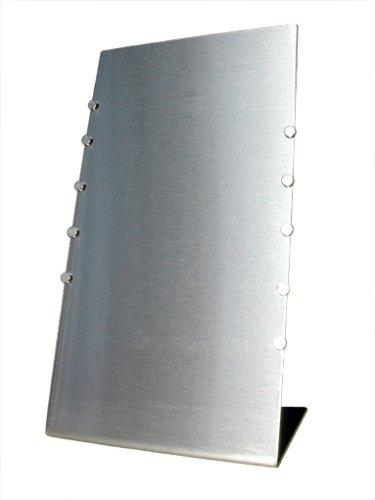 Flux-Objects Design, Schreibtisch-Pinnwand aus Edelstahl -