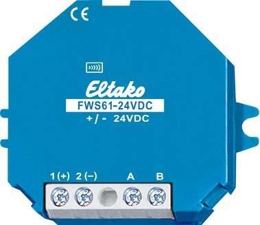 Eltako 2719447 Funk-Sendemodul für Wetterdaten, FWS 61-24 V DC