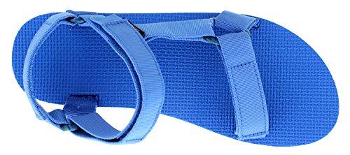 Universal amp; Teva Herren blue Sport Marbled Blau Outdoor Original Sandalen french 773 XwS7Sqr5