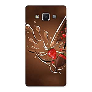 Straberry And Chocolates Back Case Cover for Samsung Galaxy A5