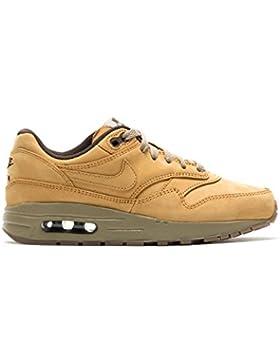 Nike Air Max 1 Lederschuhe Premium GS Jungen Sneaker - Braun
