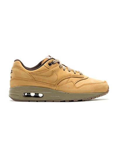 Nike Air Max 1 Lederschuhe Premium GS Jungen Sneaker - Braun Braun
