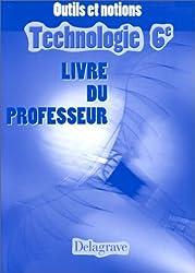 Manuel de technologie, 6e, livre du professeur