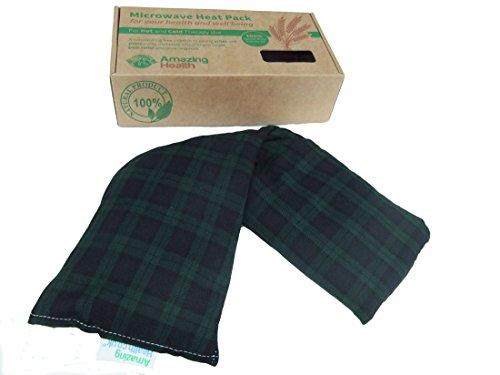 Cuscino termico, imbottito con grano e lavanda, confezione regalo