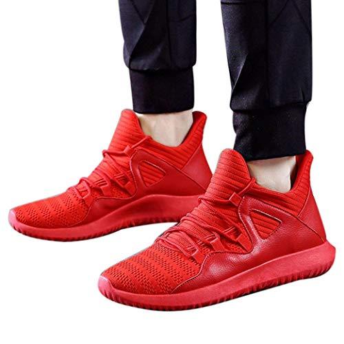 Canvas Laufschuhe Herren Sneaker Männer Atmungsaktiv Laufschuhe Outdoor Mesh Cross Turnschuhe Freizeitschuhe Sportschuhe Gym Schuhe,ABsoar