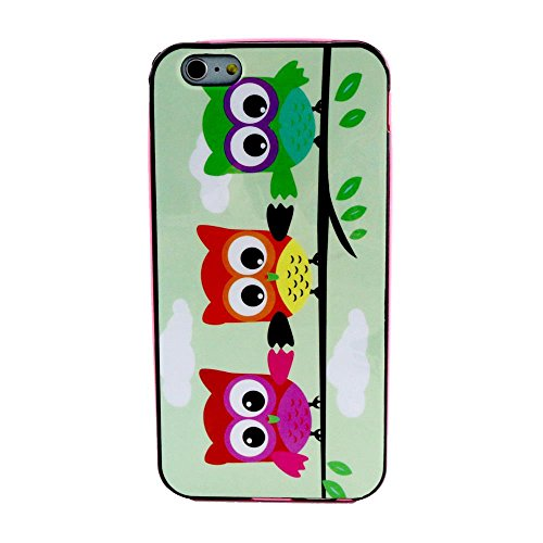 "iPhone 6 Plus / 6S Plus 5.5"" Coque, MOONCASE Coloré Motif TPU Silicone Gel Étui Housse Protection Shell Cover Case Pour iPhone 6 Plus / 6S Plus 5.5"" YT17 YT09"