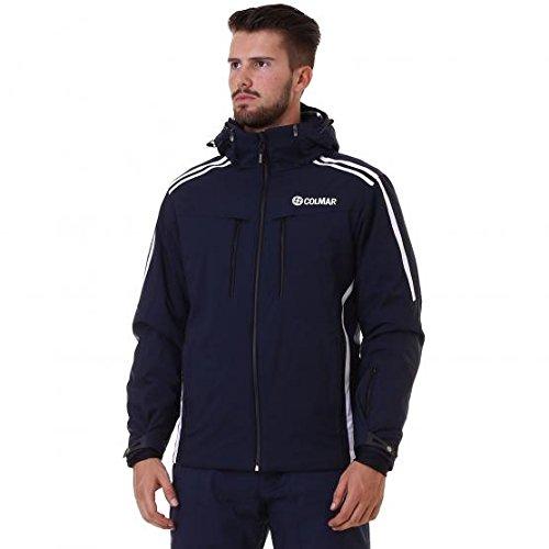 giacca sci giubbotto sci neve colmar IMPERMEABILITA' 8.000 COLONNE D'ACQUA mod. 1103u crest blu (48)