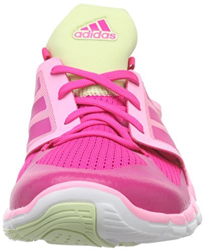adidas Adipure 360.3, Chaussures de Fitness Femme Rose - Pink (Shock Pink S16/Shock Pink S16/Halo S16)