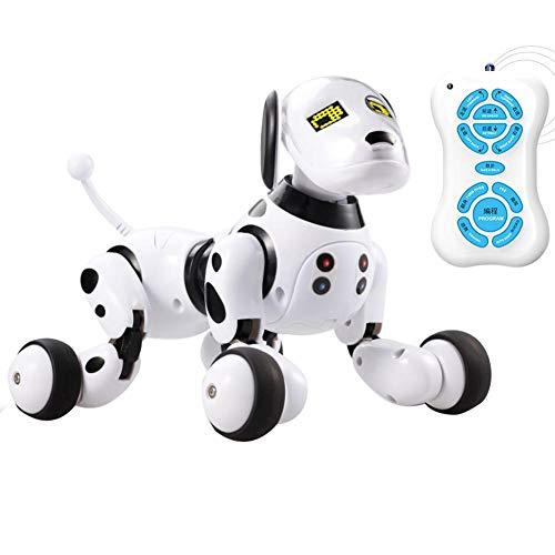 FORYOURS, Robot interattivo Intelligente Giocattolo educativo per Bambini e Bambine Nero e Bianco