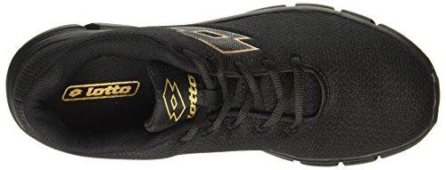 Lotto Men's Vertigo Black Running Shoes - 8 UK/India (42 EU)(AR4840-010)