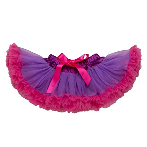 (Zhhlaixing Kids Cute Bowknot Color tulle Party Princess Pettiskirts Baby Mädchen Fashion Dance Tutus Skirt)
