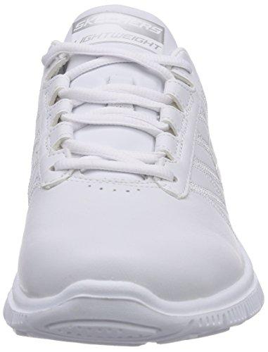 Skechers - Flex AppealPure Tone, Sneaker basse Donna Bianco (Weiß (WHT))