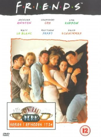 Click for larger image of Friends - Series 1 - Episodes 17-24 [DVD] [1995]