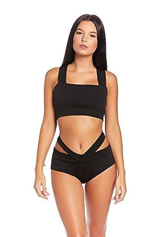 Figurbetonte Bademode! Sportlich Chic! Soft Cup Neckholder Bandeau Bikini verschiedene