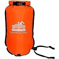 Nakw88 Bolsa seca de seguridad para triatletas de natación boya flotador deportes de agua abierta altamente visible