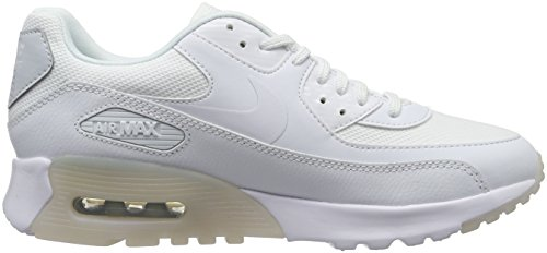Nike Damen Air Max 90 Ultra Essential Sneakers, Weiß (White/White-Pure Platinum), 41 EU -