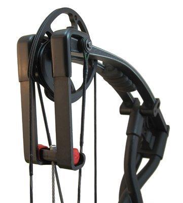 Bowmaster Bogenschießen Split Limb L Adapter Brackets G2 für die Verwendung mit Bowmaster Bow Press G2 (1 1/8