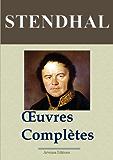 Stendhal : Oeuvres complètes (141 titres annotés et illustrés)