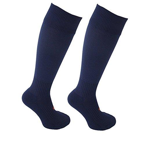Little Grippers Marine Kinder Unisex Sport Socken mit Stay On Technology (Medium 11+ Jahre/ Schuhgröße 35-39 ) (Gripper Socken)