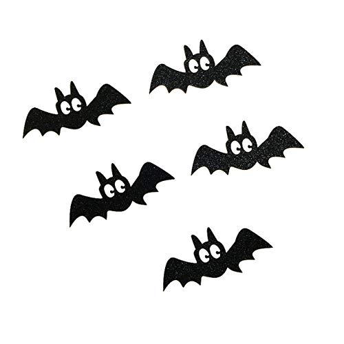 e schwarze Katze Kuchen Topper Halloween Cupcakes Fahnen ()