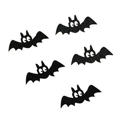 5pcs Halloween kleine schwarze Katze Kuchen Topper Halloween Cupcakes Fahnen (Cupcakes Katze Schwarze Halloween)
