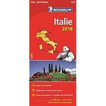 Carte Italie Michelin 2018