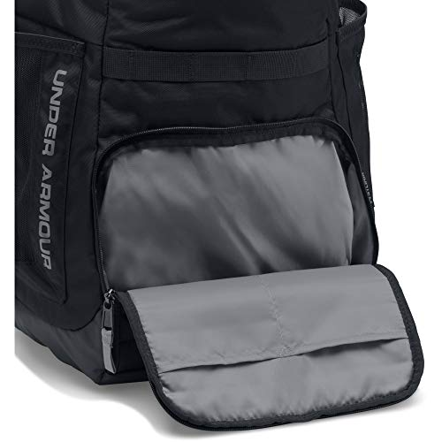 Under Armour Undeniable 3.0 Backpack, Black/Black, One Size Image 8