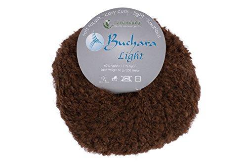 Zealana Buchara Light Brown Garn, Wolle, braun, 15 x 13 x 8 cm -