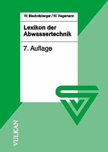 Lexikon der Abwassertechnik