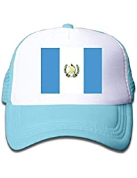 Daibing Guatemala Flag Kids Adjustables Mesh Hat