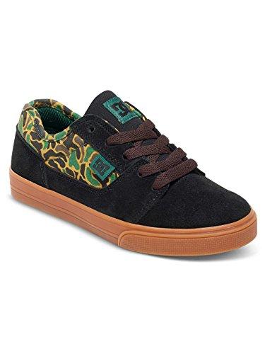 DC Shoes Tonik Se, Unisex Baby Krabbelschuhe Black/Camo