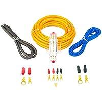 Bass Face 8 AWG 10 mm 12 V, vera, Super flessibile, Kit di cavi di alimentazione
