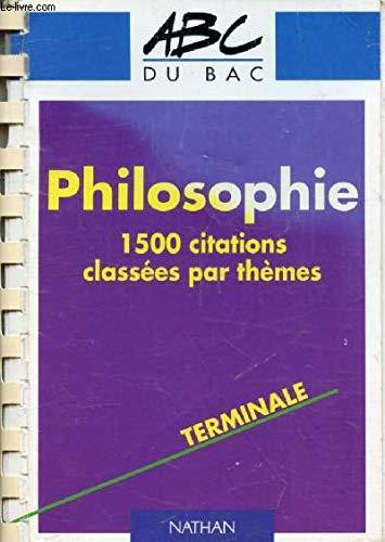 La philosophie en 1500 citations 022796