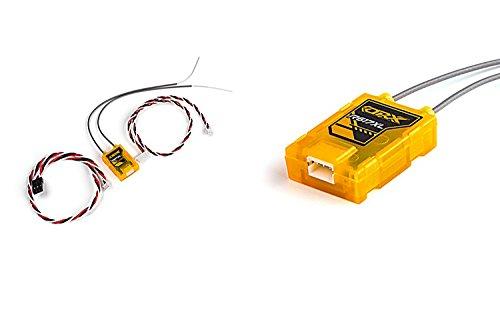 dsmx empfaenger OrangeRx R617XL Satelliten Empfänger CPPM DSM2-DSMX Receiver sehr leicht, nur 3,5 Gramm und ultra kompakt von Modellbau Eibl